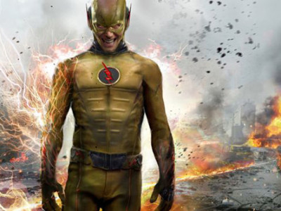 Una imagen del malvado Reverse Flash