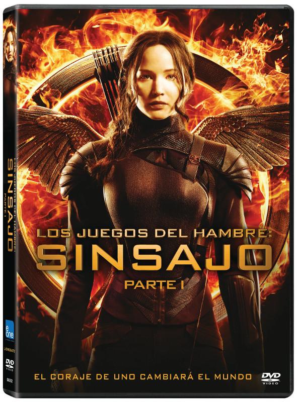 Carátula DVD Sinsajo Parte 1