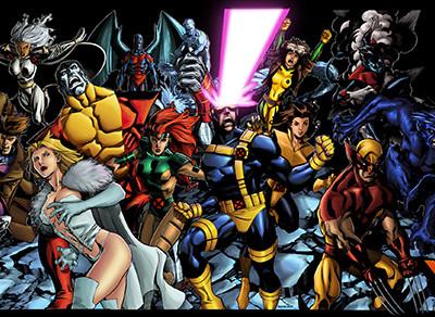 Una imagen de los X-Men