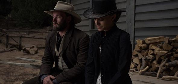 Joel Edgerton y Portman en 'Jane got a gun'