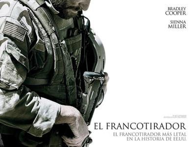 Imagen de el póster en español de El Francotirador