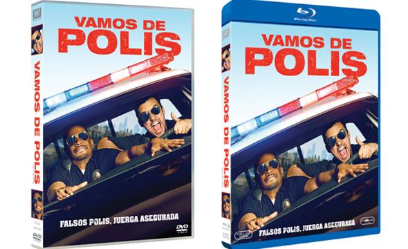 'Vamos de Polis' en Bluray y DVD