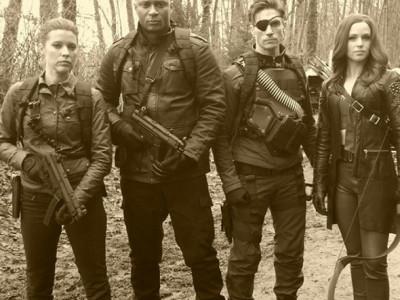 Una imagen de El Escuadrón Suicida en 'Arrow'