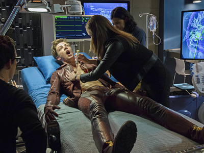 Una imagen del episodio 'Fallout' de 'The Flash'