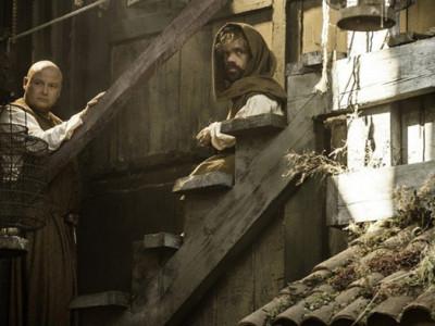 Una imagen del rodaje de la quinta temporada de 'Juego de Tronos'