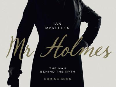 Una imagen de Ian Mckellen en el póster de 'Mr. Holmes'