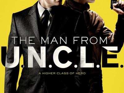 Imagen del póster de la película The Man from U.N.C.L.E