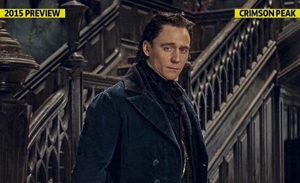 Tom Hiddlestone nos aterrorizará en lo nuevo de Guillermo del Toro