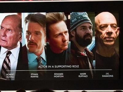 Candidatos al Oscar a Mejor actor de reparto