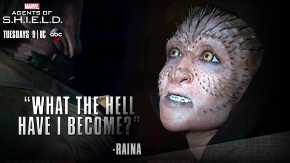 El look  Inhumano de Raina, revelado en Agentes de SHIELD