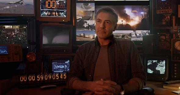 George Clooney, en una imagen de Tomorrowland