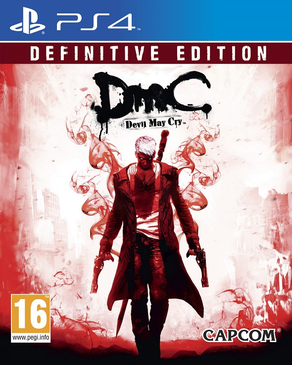 DmC.  Devil May Cry Definitive Edition para PS4