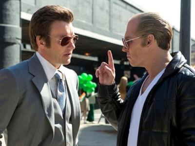 Edgerton y Depp en 'Black Mass'