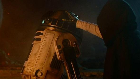 R2 D2 es un incombustible del universo 'Star Wars'
