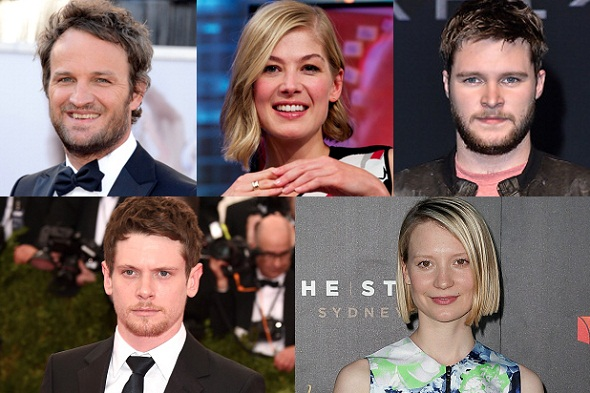 Reparto principal de 'HHHH': Jason Clarke, Rosamund Pike, Jack Reynor, Jack O´Connell y Mia Wasikowska