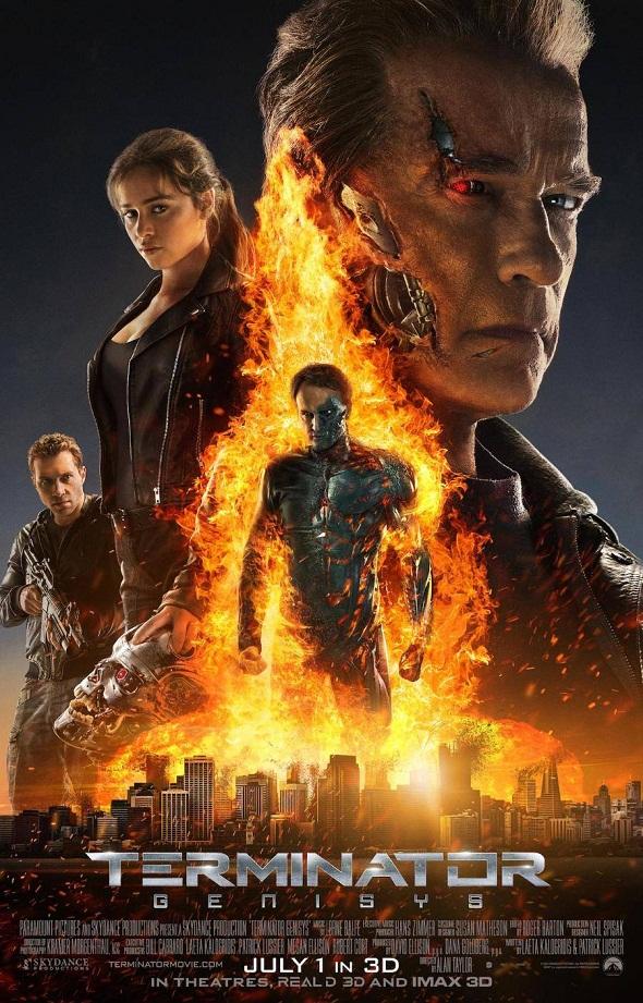 Póster definitivo de 'Terminator Génesis'