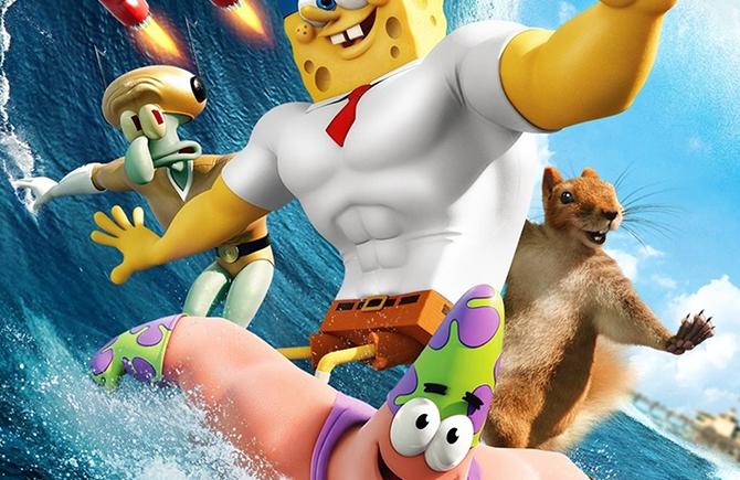 Bob Esponja - Un héroe fuera del agua