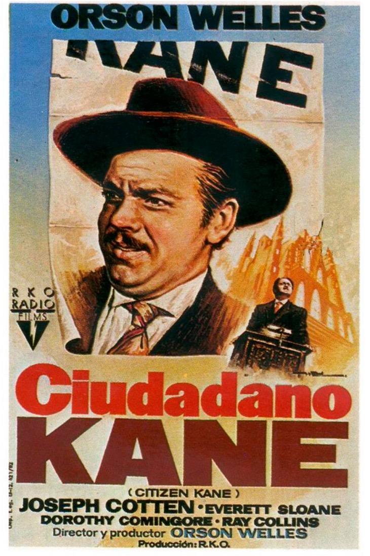 Póster de Ciudadano Kane