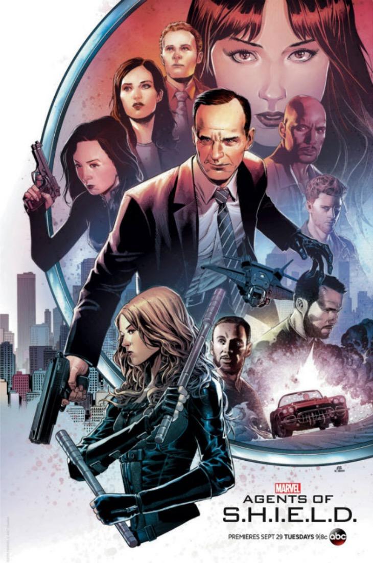Póster de la tercera temporada de  'Agents of S