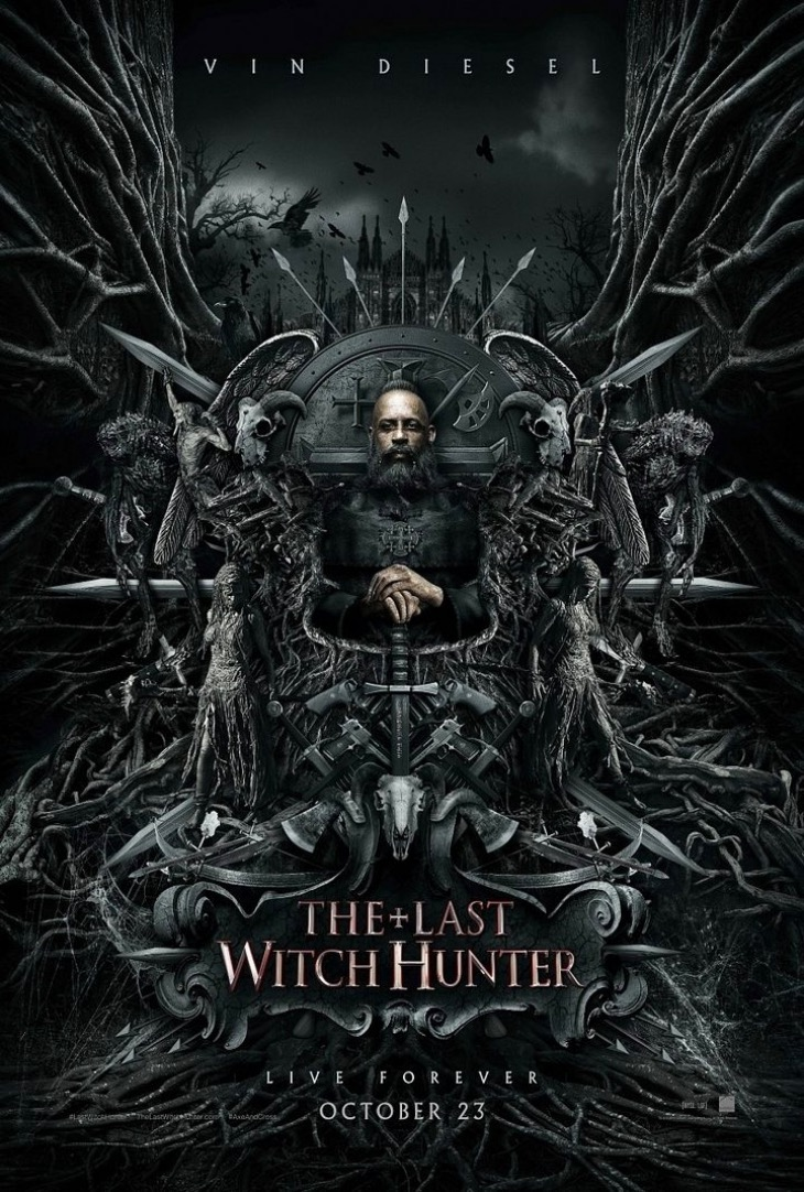Nuevo póster de El último cazador de brujas