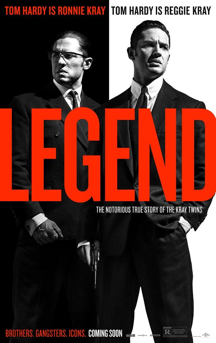 Póster de 'Legend'
