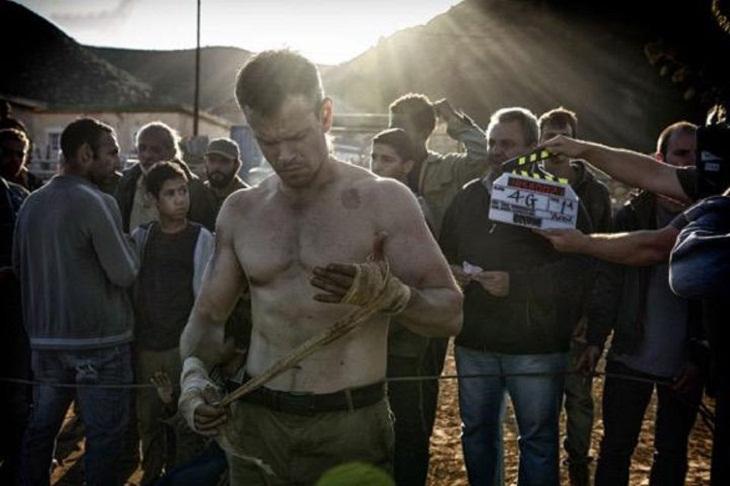 Matt Damon ya rueda 'Bourne 5'