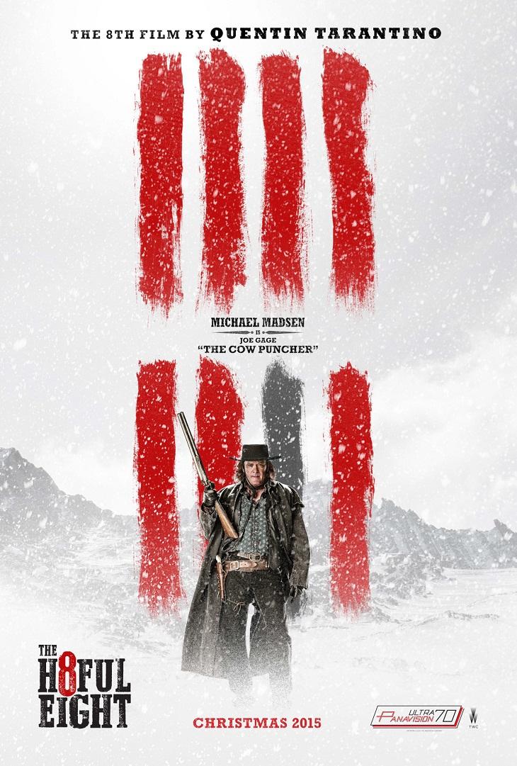 Michael Madsen también tiene su póster