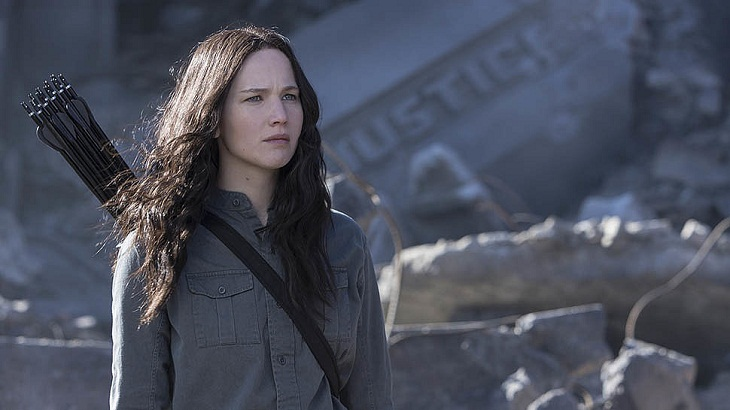 Jennifer Lawrence protagoniza el capítulo final de la saga