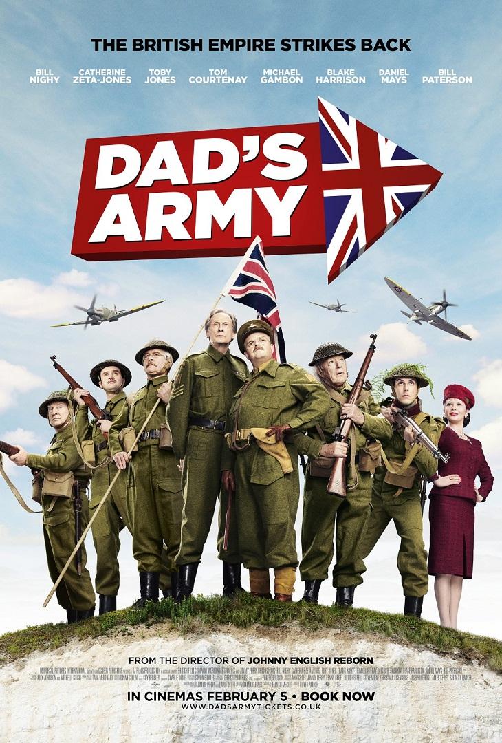 Póster de 'Dad's army'