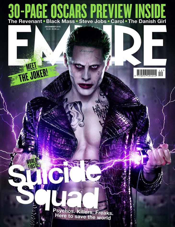 Portada de Empira en honor al Joker de Jared Leto