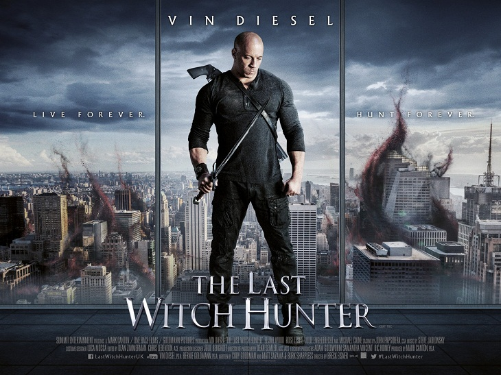 'The last witch hunter'