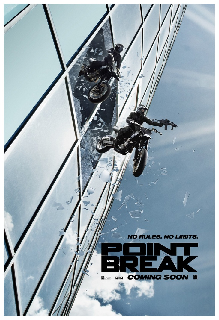 Nuevo póster de 'Point Break (Sin límite)'