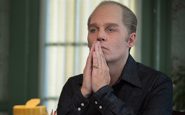 Johnny Depp en 'Black mass'