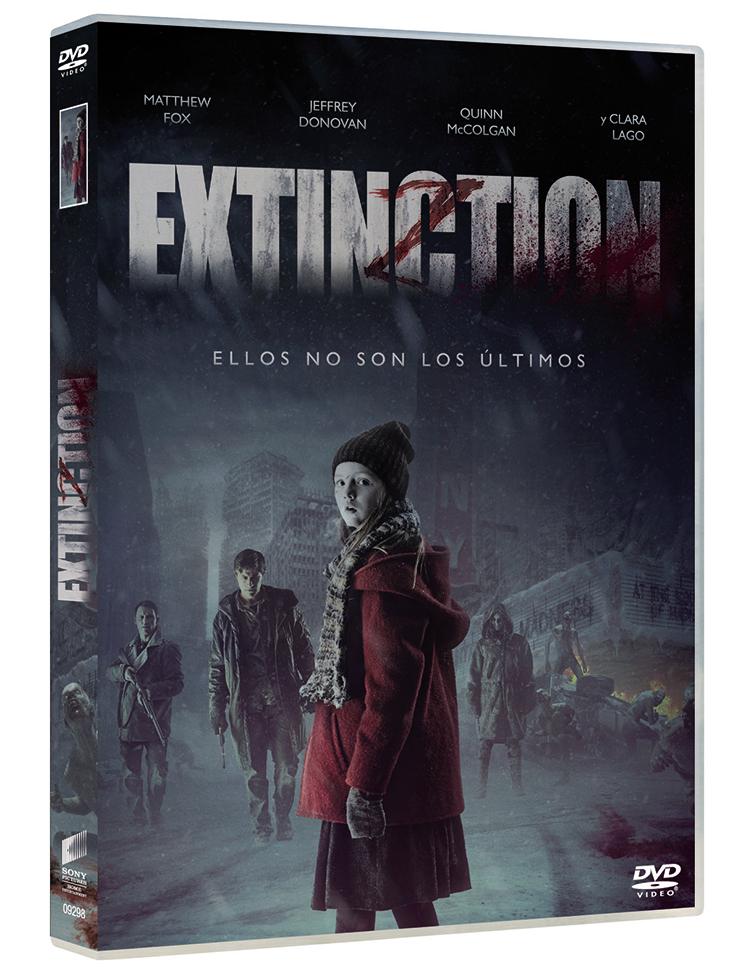 Portada del DVD de Extinction
