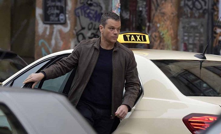 Matt Damon rueda 'Bourne 5' en Alemania