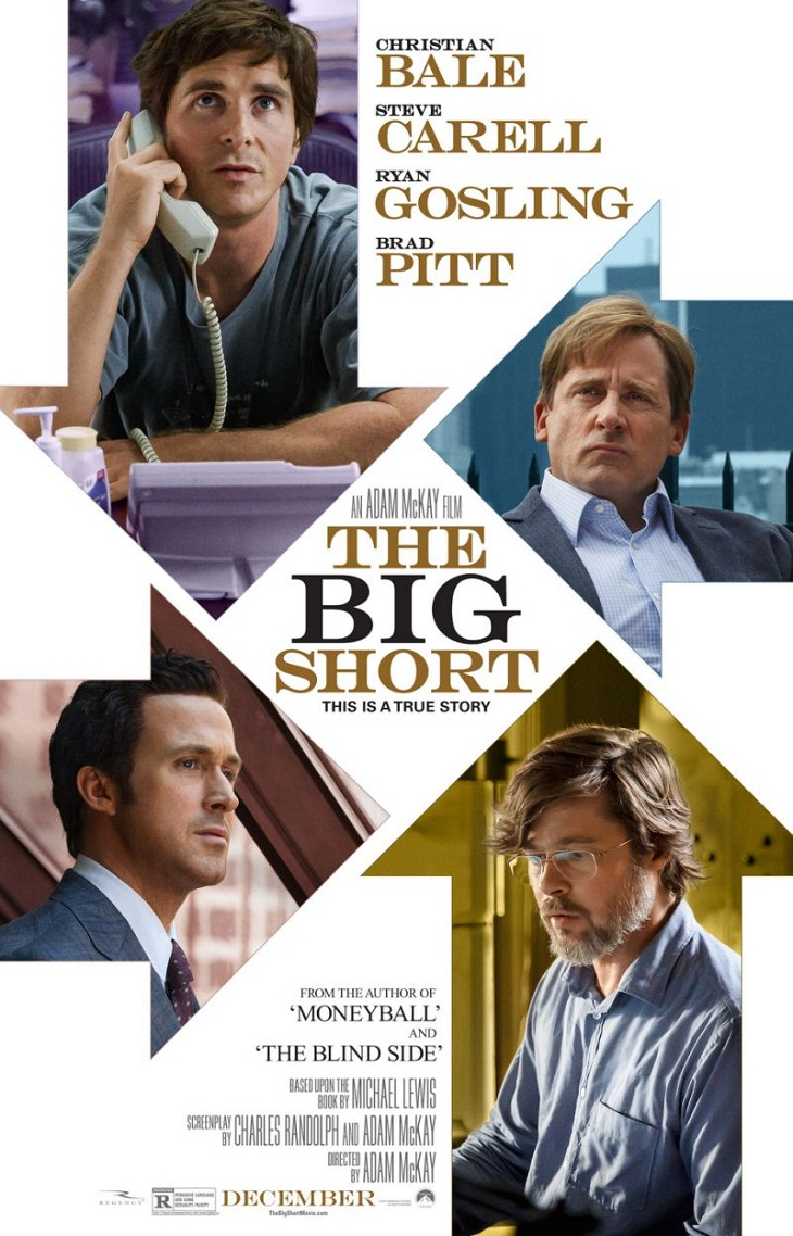 Póster de 'La gran apuesta (The big short)'