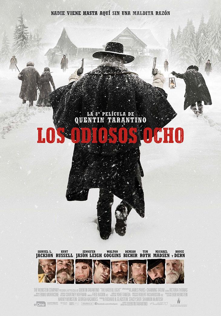 Cartel de Los odiosos ocho (The hateful eight)
