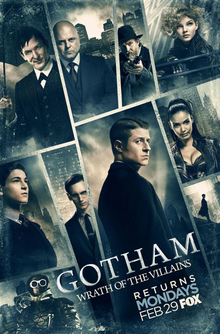 Póster de la segunda temporada de Gotham