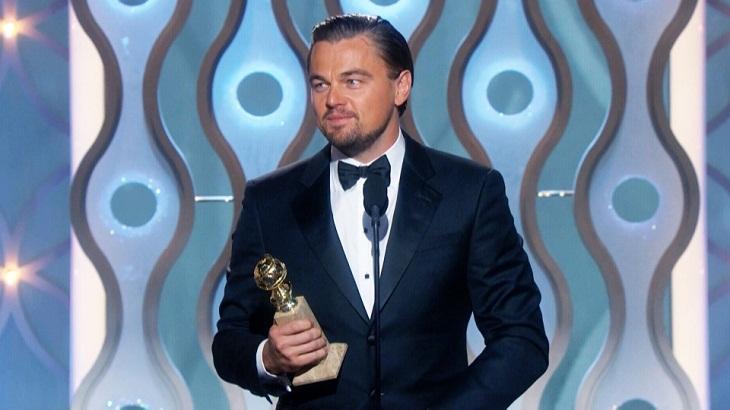 Leonardo DiCaprio ganó por su rol en 'El renacido'