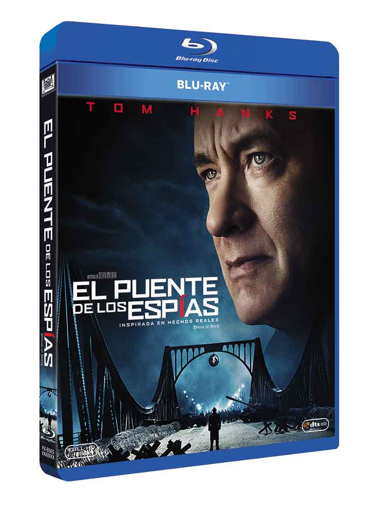 carátula del Blu ray de El Puente de los Espías