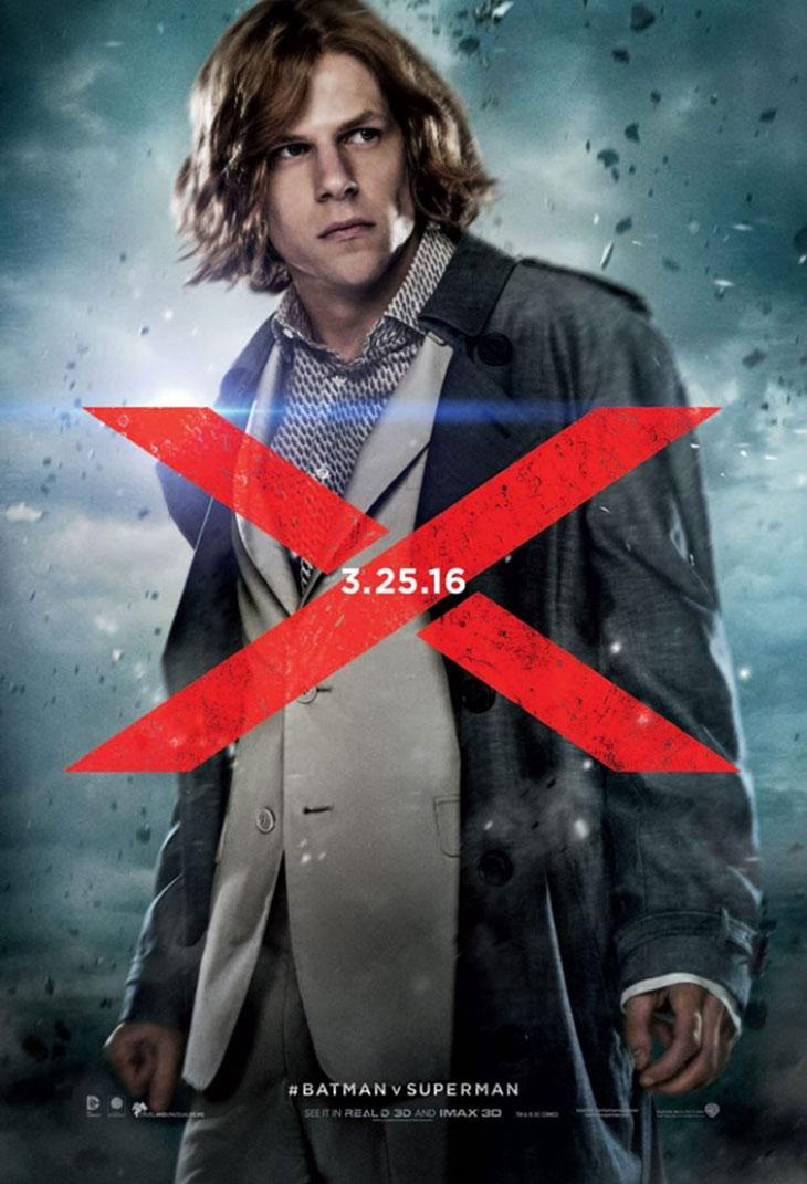 Lex Luthor en Batman v Superman: El amanecer de La Justicia