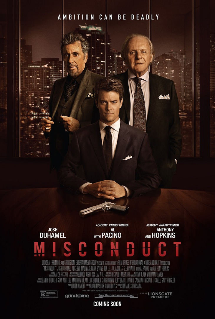 Póster de 'Misconduct'