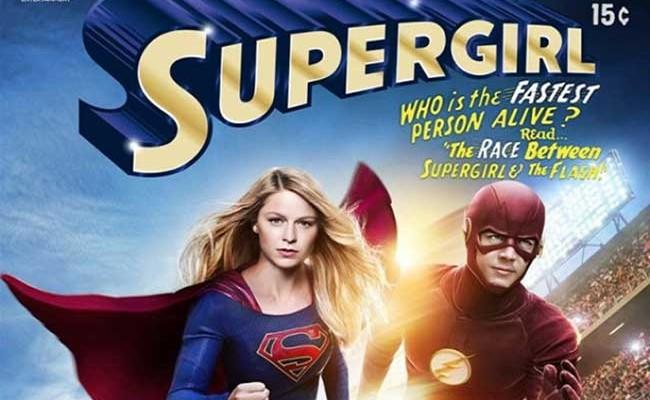 Crossover de The Flash y Supergirl destacada