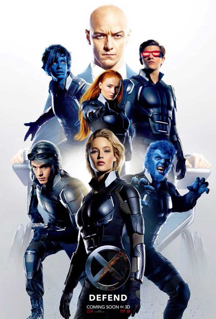 Póster de la película X-Men: Apocalipsis
