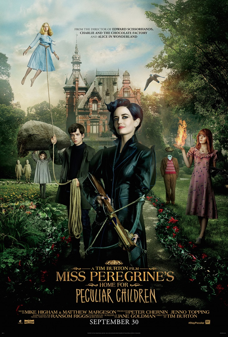 Póster de 'El hogar de Miss Peregrine para Niños Peculiares'