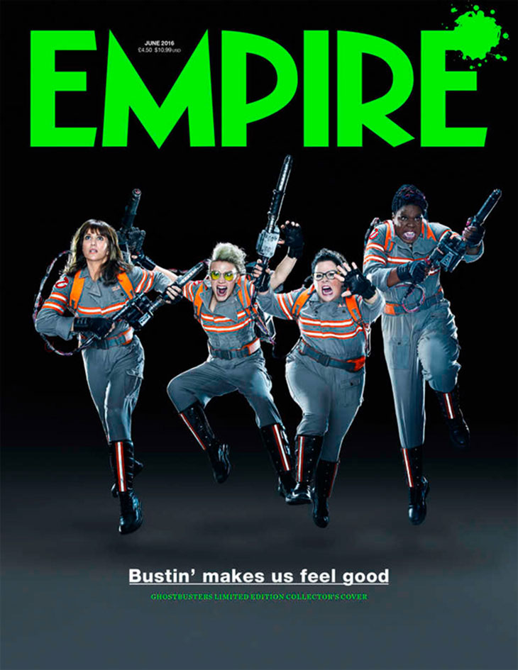 Ghostbusters Empire Covers