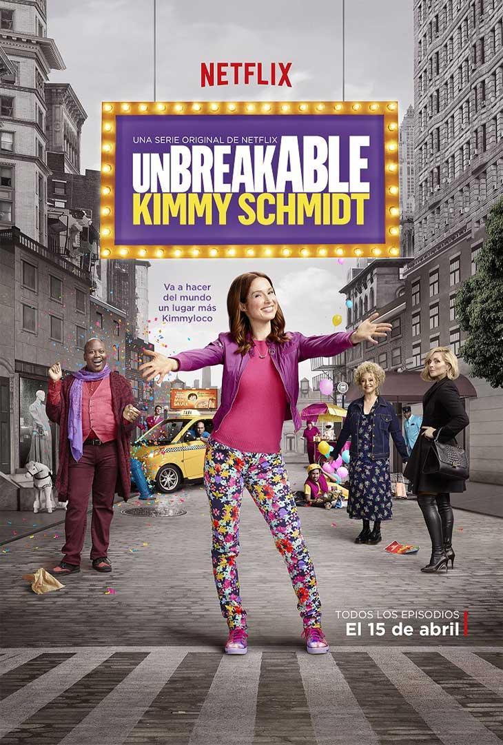 Póster en español de Unbreakable Kimmy Schmidt