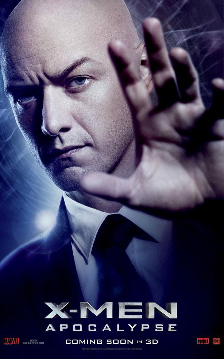X-Men: Apocalipsis Charles Xavier