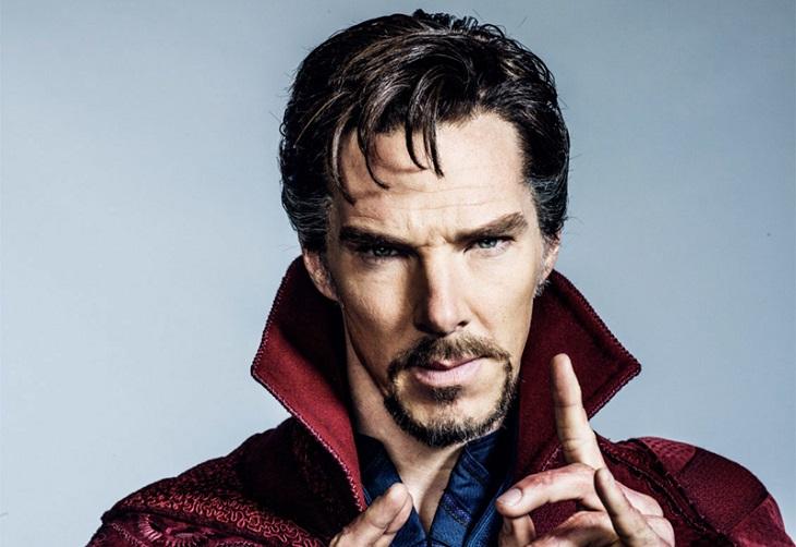 Benedict Cumberbatch como el 'Doctor Extraño'