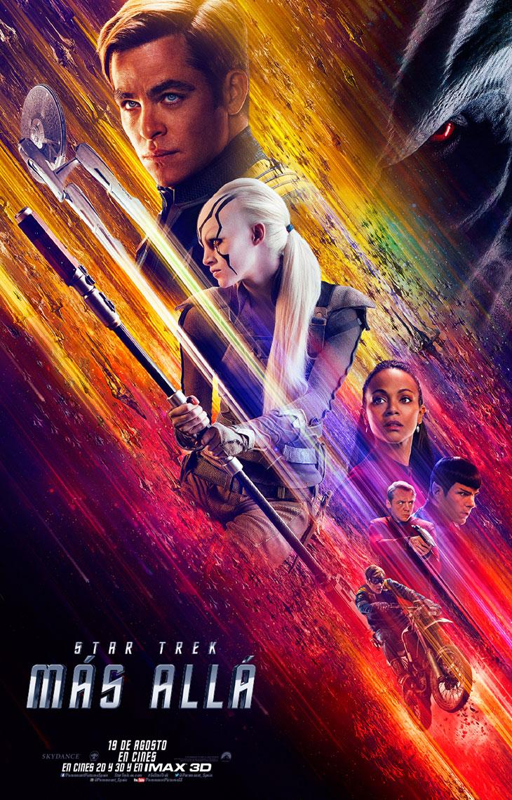Star Trek Más allá póster definitivo